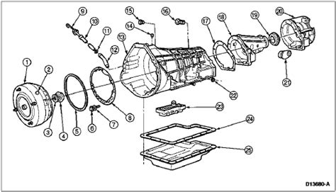 1994 Econoline E4od Wiring Schematic by E40d Removal Ford Bronco Forum