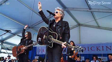 Watch Jon Bon Jovi Backstage Before Surprise Graduation