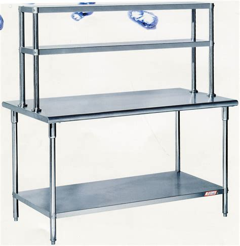 stainless steel work table with two shelves china assembling stainless steel work table with