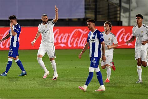 Real Madrid vs Alaves LIVE! Latest score, goal updates ...