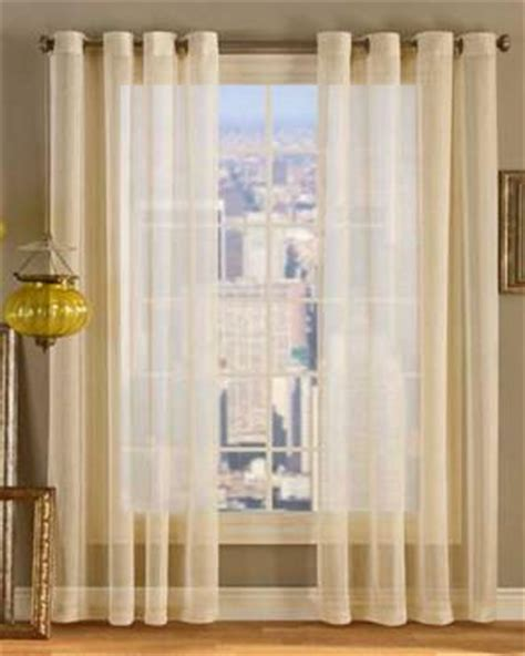 sheer priscilla panel pair with attached valance