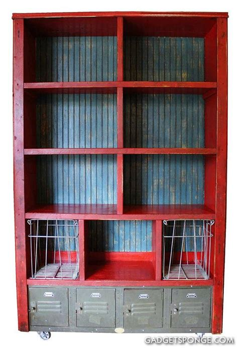 reserved large bookcase metal lockers wire metal gym