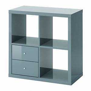 Regal Mit Tisch Ikea : kallax regal mit schubladen hochglanz graut rkis ikea ~ Sanjose-hotels-ca.com Haus und Dekorationen