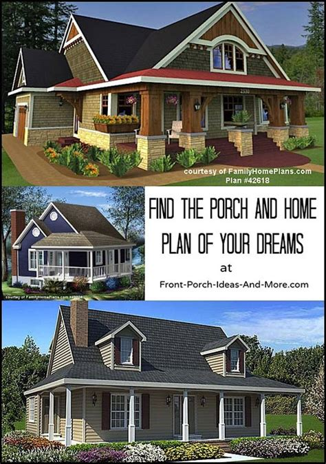 House Plans Front Porch by House Plans With Porches House Plans Wrap