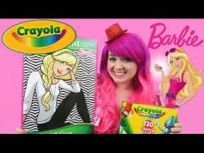 barbie giant coloring page crayola coloring book