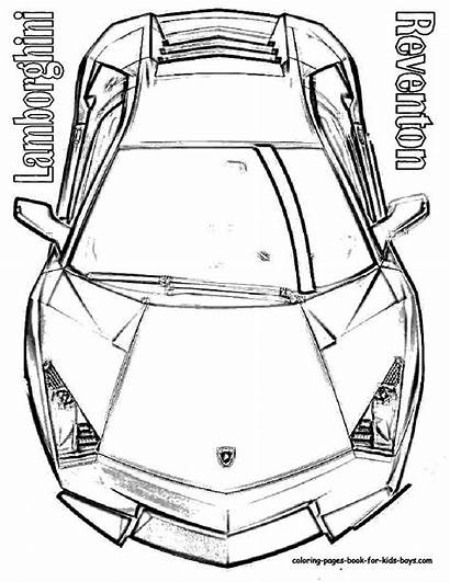 Coloring Lamborghini Pages Cars Murcielago