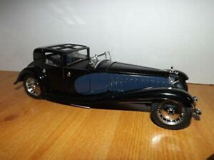 The first prototype, chassis 41100, was completed in 1927. FRANKLIN MINT 1930 BUGATTI ROYALE COUPE NAPOLEON | eBay