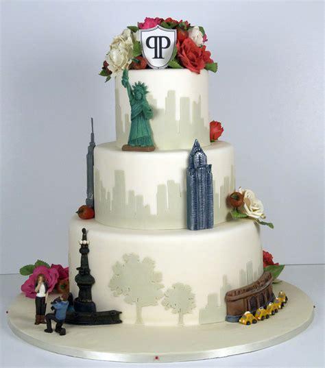 nyc skyline wedding cake cakecentralcom