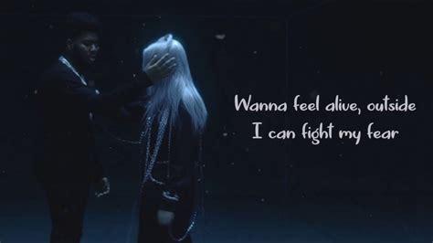 billie eilish ft khalid lovely lyrics video youtube
