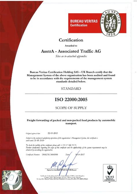 bureau certification certificates and associations