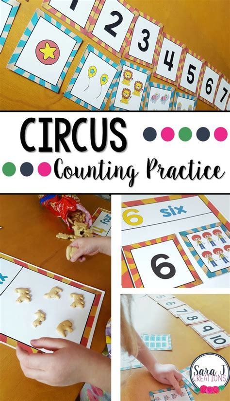 best 25 circus theme crafts ideas on circus 329 | cef4f8b5715bcdc8fabfc325373618ee preschool math kindergarten math