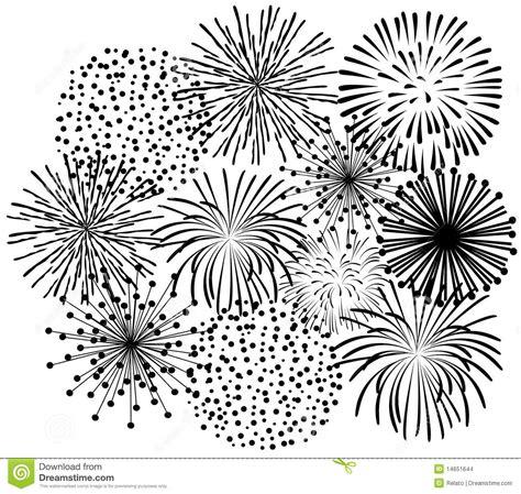 clipart fuochi d artificio fuochi d artificio neri immagini stock immagine 14651644