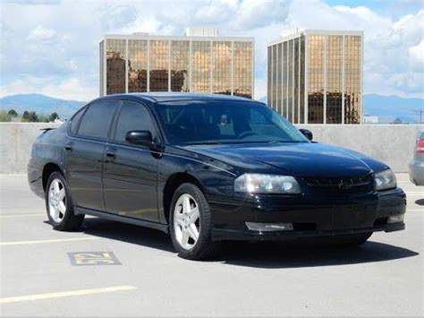 2004 Chevrolet Impala Ss Supercharged by 2004 Chevrolet Impala Ss Supercharged Sedan For Sale