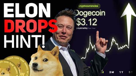 ELON DROPS HUGE DOGECOIN HINT! HUGE SNL UPDATE! (DOGECOIN ...