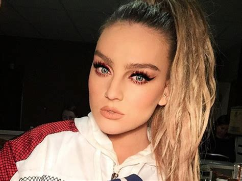 Perrie Edwards Defends Louis Tomlinson After His Airport