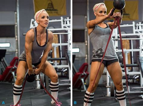 jessie workout power kettlebell resistance swing circuit plyo hilgenberg bodybuilding exercise