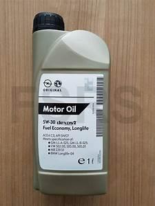 Genuine Opel Engine Oil 1 Liter 5w30 Dexos 2 Synthetic