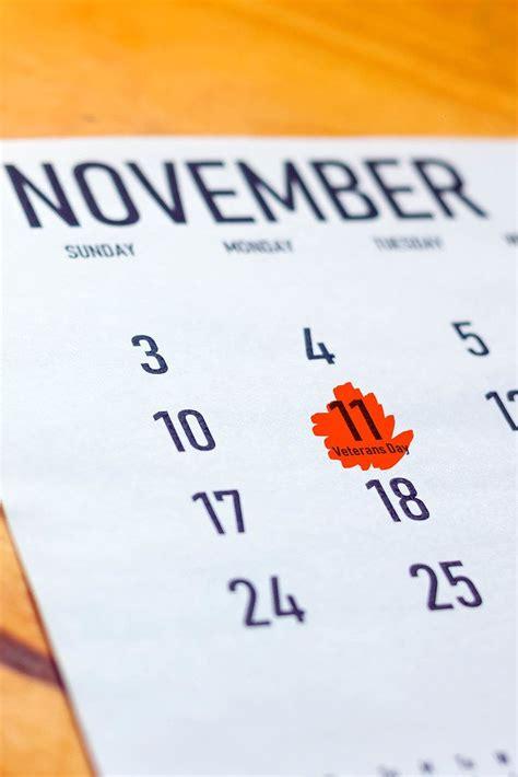 veterans day marked calendar creative commons bilder