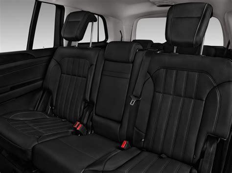 image 2017 mercedes gls gls450 4matic suv rear seats