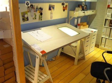 drawing table  light box ikea drafting table