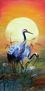 japanese crane pencil drawing - Google Search   Chinese ...