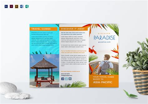 Sle Travel Brochure Template by 17 Fabulous Brochure Templates Psd Ai Indesign