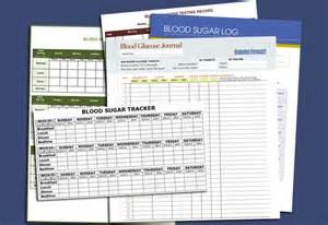 Printable Blood Sugar Log Sheet Template
