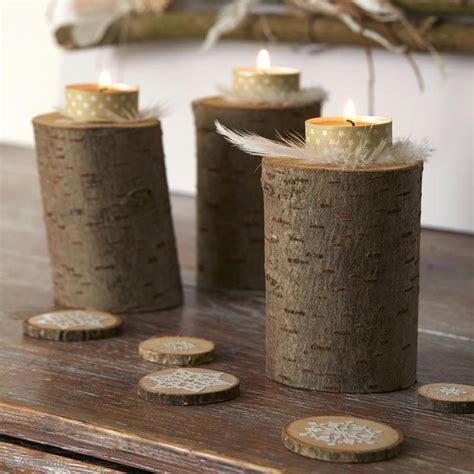 décoration de noël facile bougeoirs et déco de table en