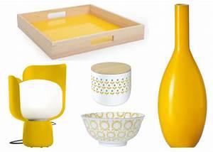 Plateau Deco Design : 20 accessoires en jaune pour la maison joli place ~ Teatrodelosmanantiales.com Idées de Décoration