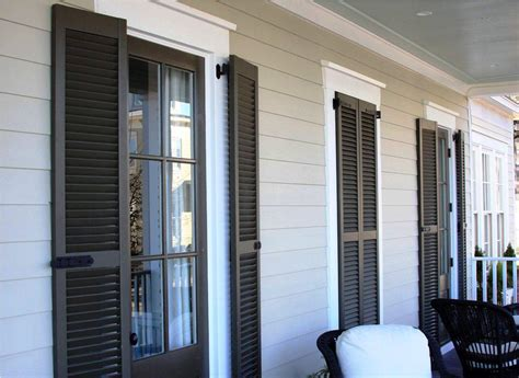 Exterior Window Shutters Home Depot
