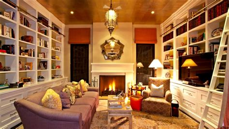 Home Library : + Home Library Design Ideas-youtube