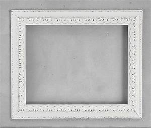 11x14 ORNATE FRAME Antique Off White 11 x 14 Beautiful