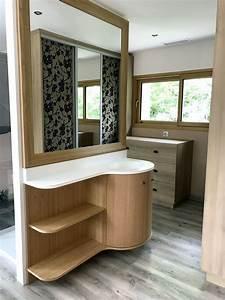 amenagement interieur eurl landais menuiserie With porte d entrée alu avec plan de travail en resine pour salle de bain