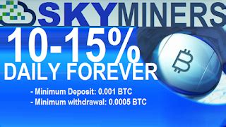 bitcoin forum skyminers investment review