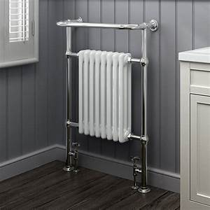heated traditional radiator cast iron chrome towel rail With cheap bathroom radiators towel rails
