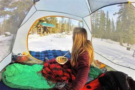 a creative winter cing meal to make an adventure in prince albert national park