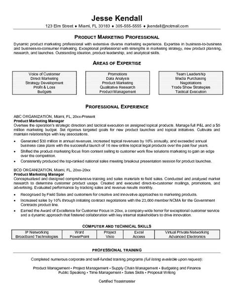 Product Management Resume Sles by Product Manager Resume Jvwithmenow