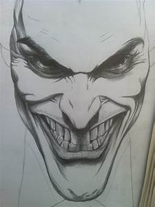 The Joker:Initial Sketch by GuardianOfEvermore on DeviantArt