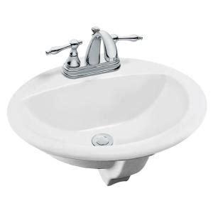 home depot utility sink glacier bay glacier bay aragon self drop in bathroom sink in