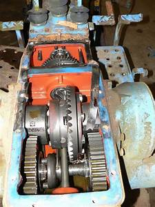 Ford 1600 Diesel Tractor Transmission  U0026 Rear End With