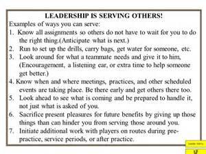 Servant Leadership Examples