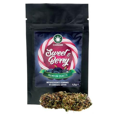 but canapé lit sweet berry cannabis light con cbd cannabe