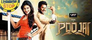 Poojai: Film Review – Vishal's 'mass' avatar will have you ...  Poojai