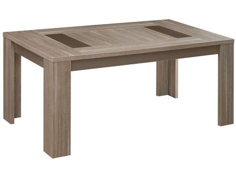 meuble cuisine 20 cm table rectangulaire 180 cm atlanta coloris chêne fusain