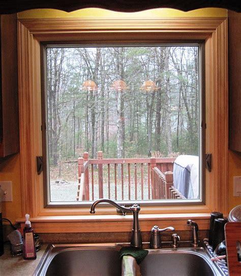 awning window  kitchen sink renewal  andersen