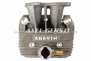 Aluminum Valve Cover  U0026 39 Abarth U0026 39  For Double Carburetor Fiat 500  126