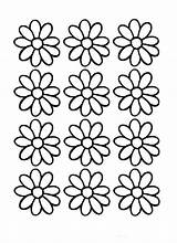 Daisy Coloring Flower Outline Printable Pages Flowers Scout Printables Clipart Colouring Sheets Daisies Cliparts Outlines Adult Petal Scouts Library Labels sketch template