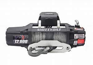 Smittybilt Upgrades X20 Line Of Winches