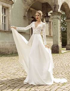 amazing long sleeve lace wedding dress ipunya With lace sleeve wedding dresses