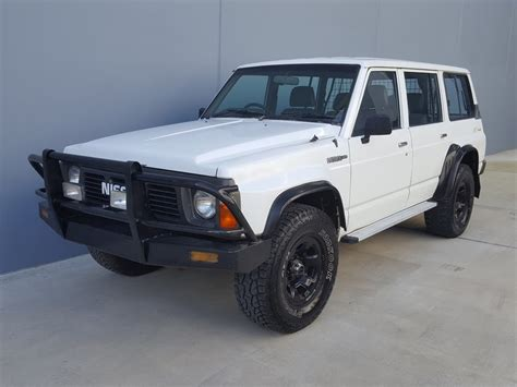 nissan patrol 1990 sold nissan patrol gu 4x4 lpg for sale 1990 review youtube
